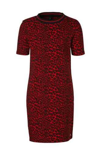 jurk Reona met panterprint