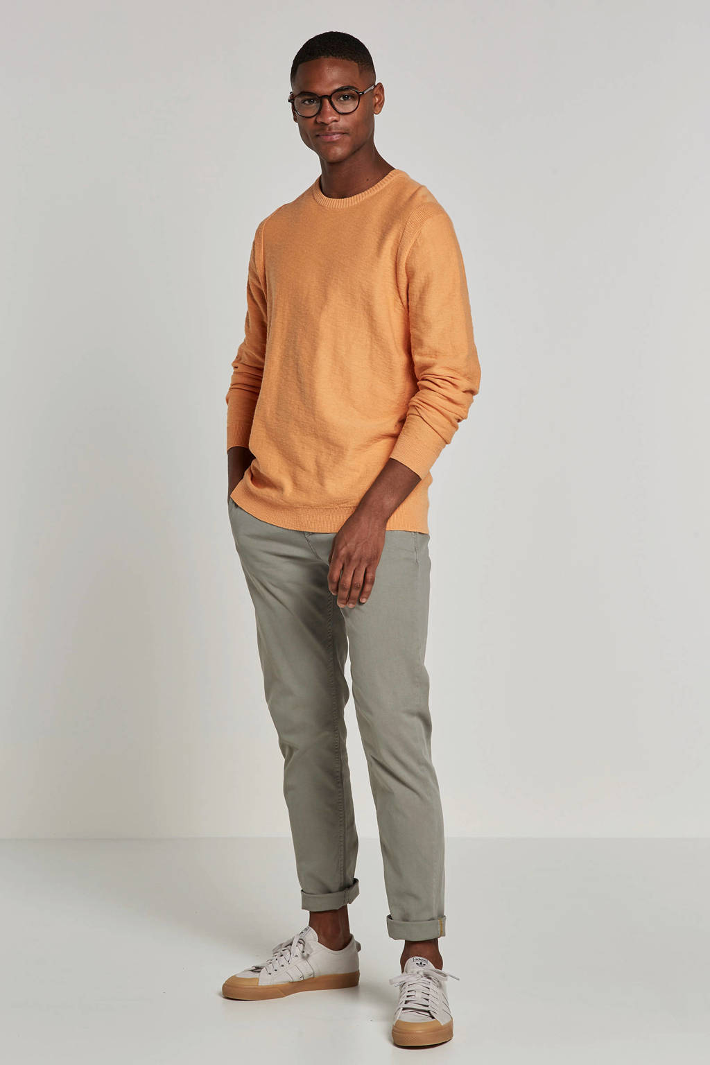 New in Town trui, Oranje