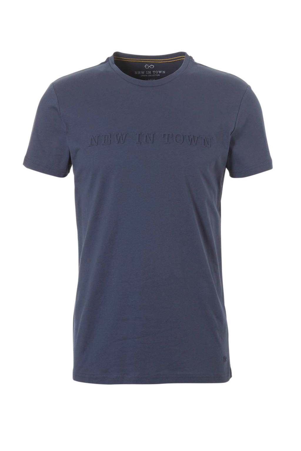 New in Town T-shirt, Donkerblauw