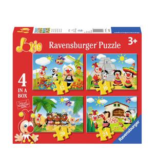 Jokie 4 in 1 box  legpuzzel 72 stukjes