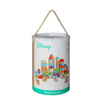 Mickey Mouse houten blokken 100 stuks (TY011)