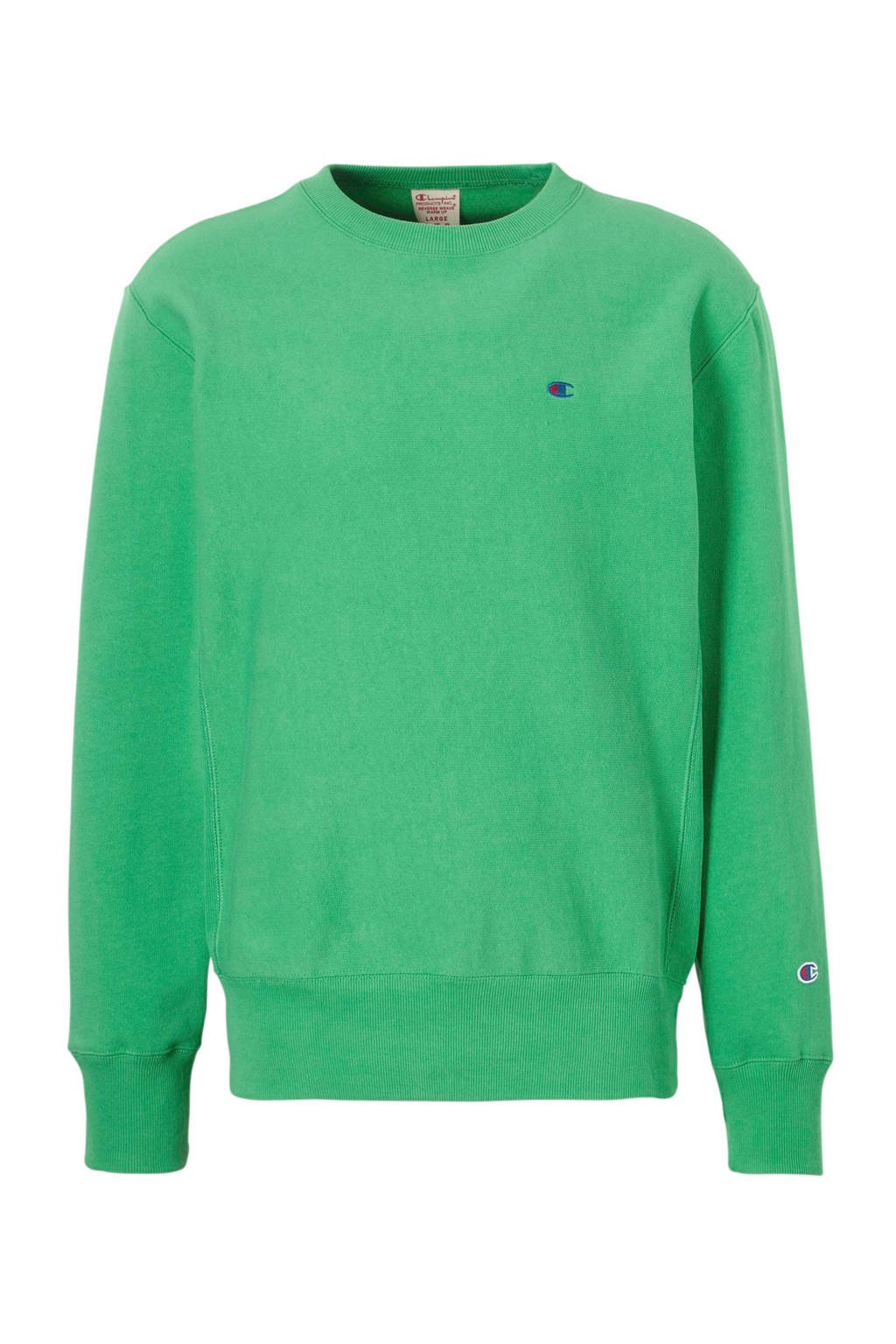 Champion sweater groen, Groen