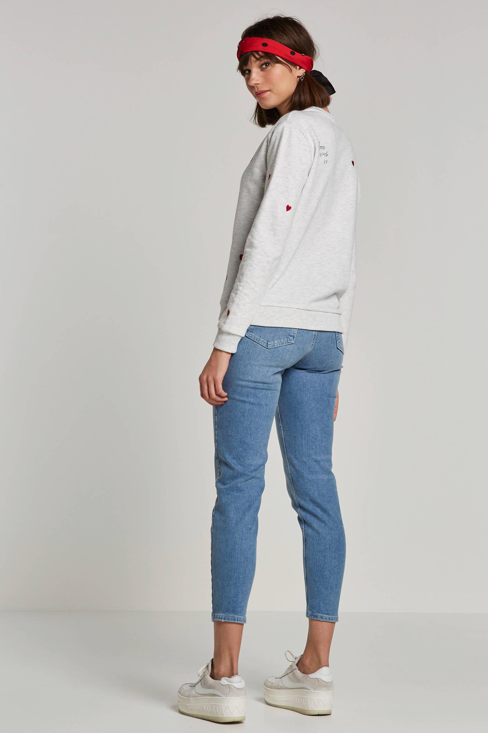 Catwalk Junkie sweater met hartjes | wehkamp