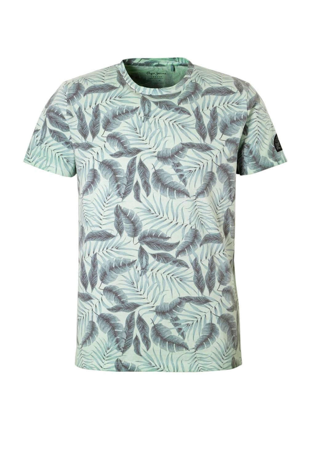 Pepe Jeans T-shirt met printopdruk groen, Groen