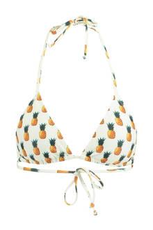 Mix & Match triangel bikinitop Anna ananas
