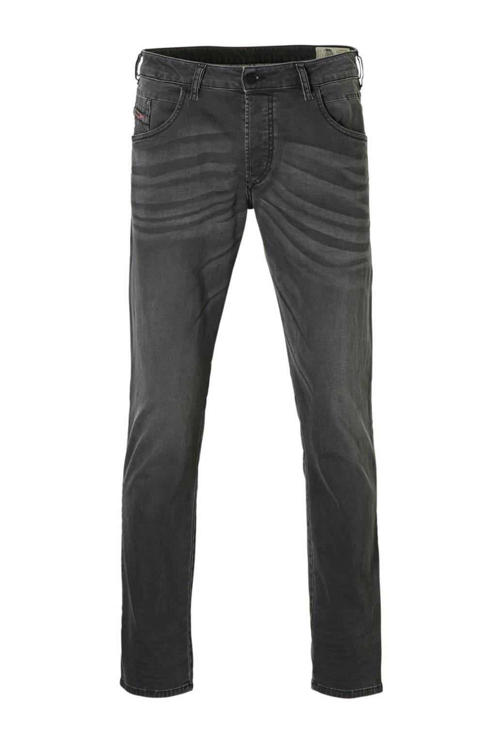 Diesel tapered fit jeans D-blazer, Grijs