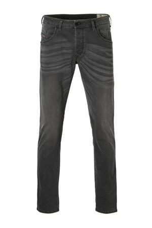 tapered fit jeans D-blazer grijs
