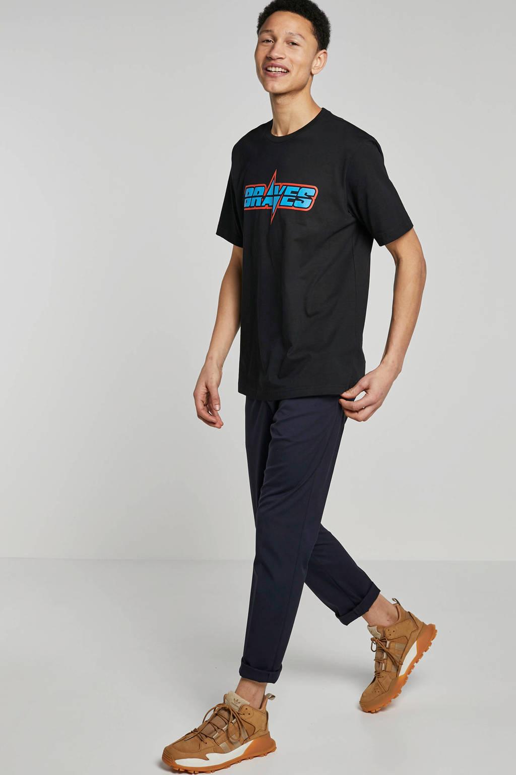 Diesel T-shirt, Zwart/blauw