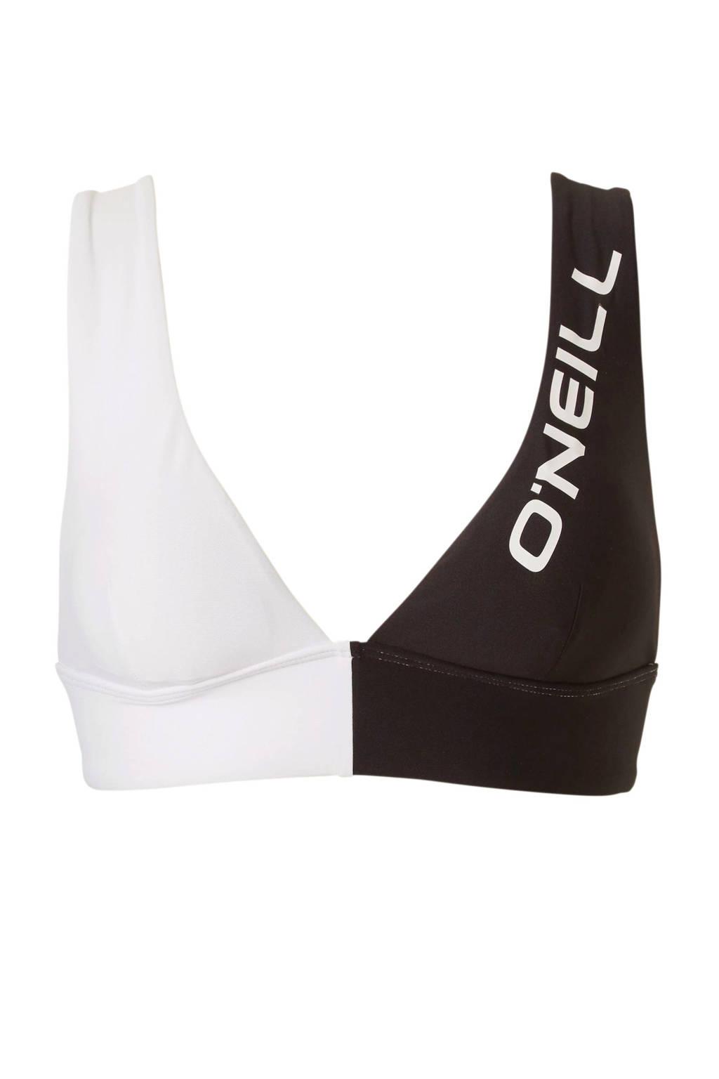 O'Neill bikinitop Hyperdry wit/zwart, Wit/zwart