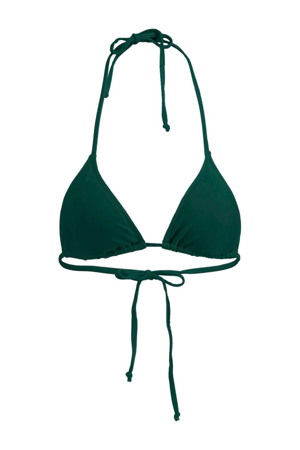 America Today Mix & Match triangel bikinitop Amber donkergroen, Donkergroen