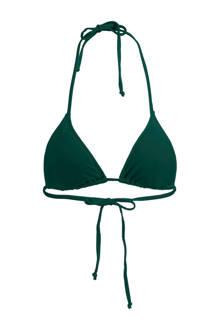 Mix & Match triangel bikinitop Amber donkergroen