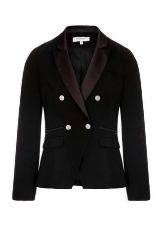 blazer double breasted zwart