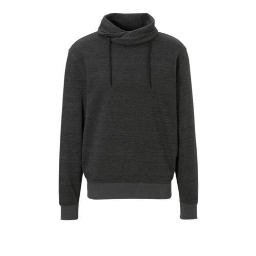 C&A Angelo Litrico gemêleerde sweater antraciet