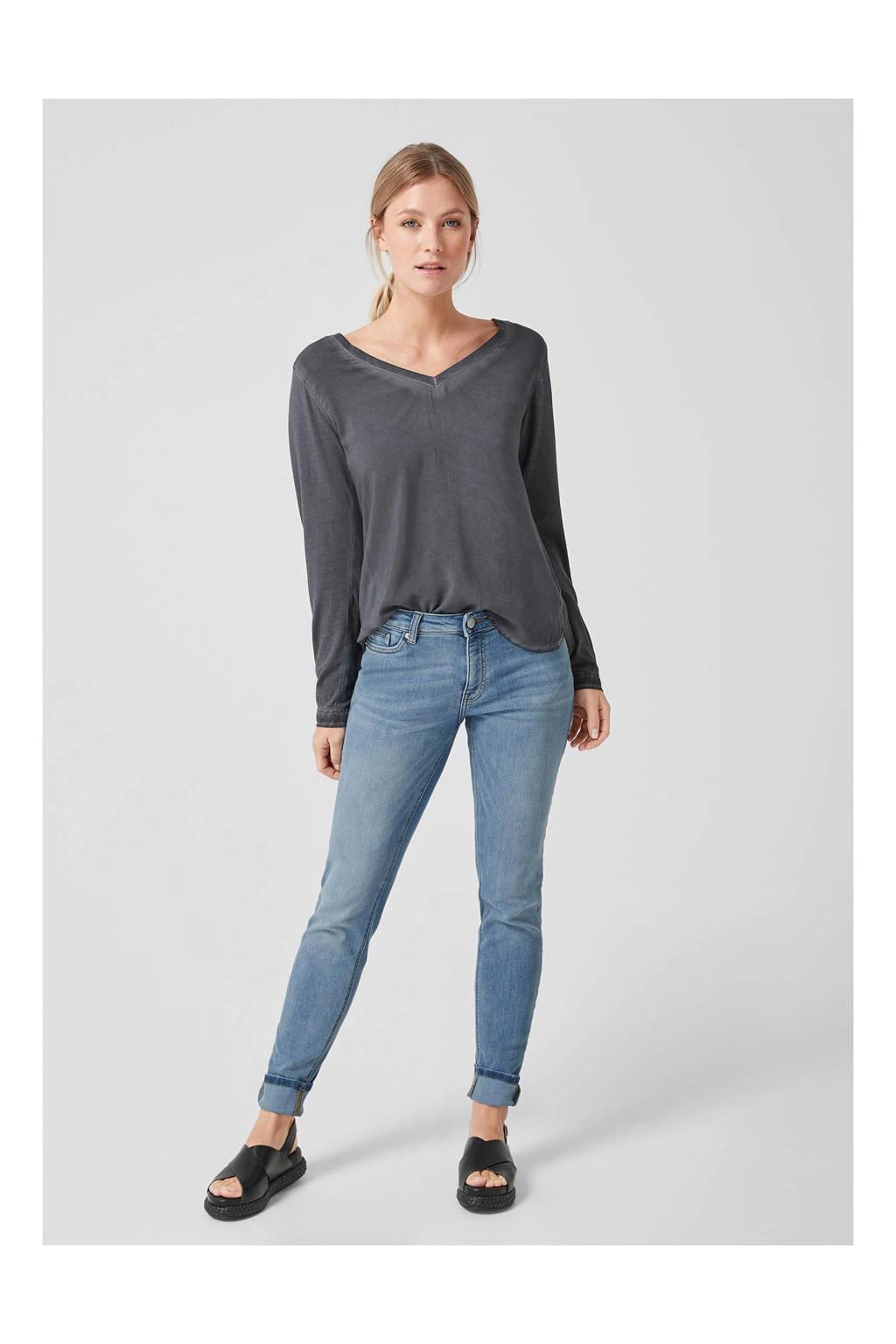 Q/S designed by jeans lichtblauw, Lichtblauw