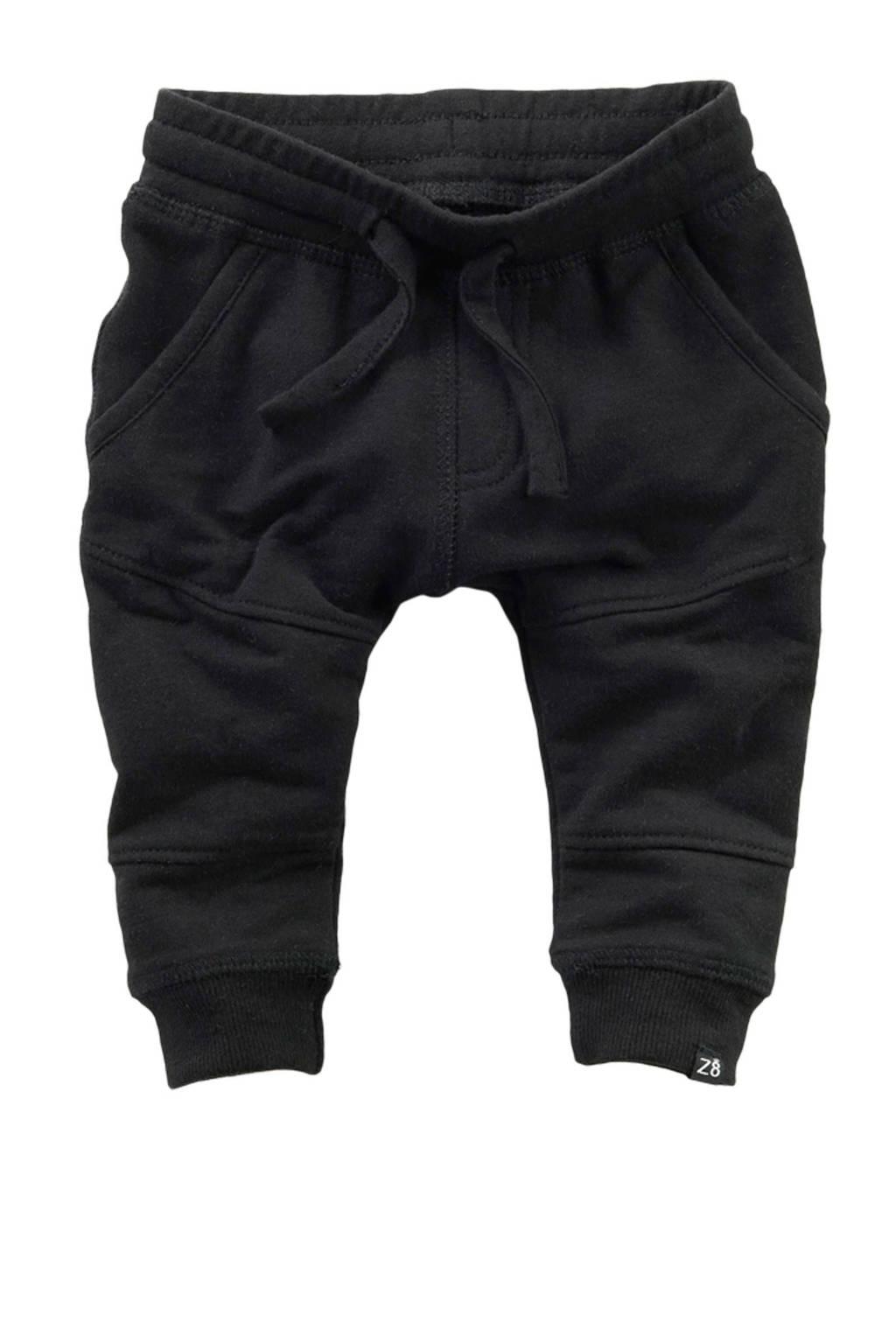 Z8   newborn baby joggingbroek Beau zwart, Zwart