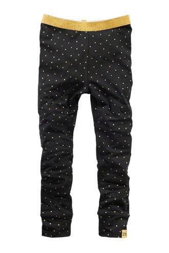 legging Fenna zwart met stippen
