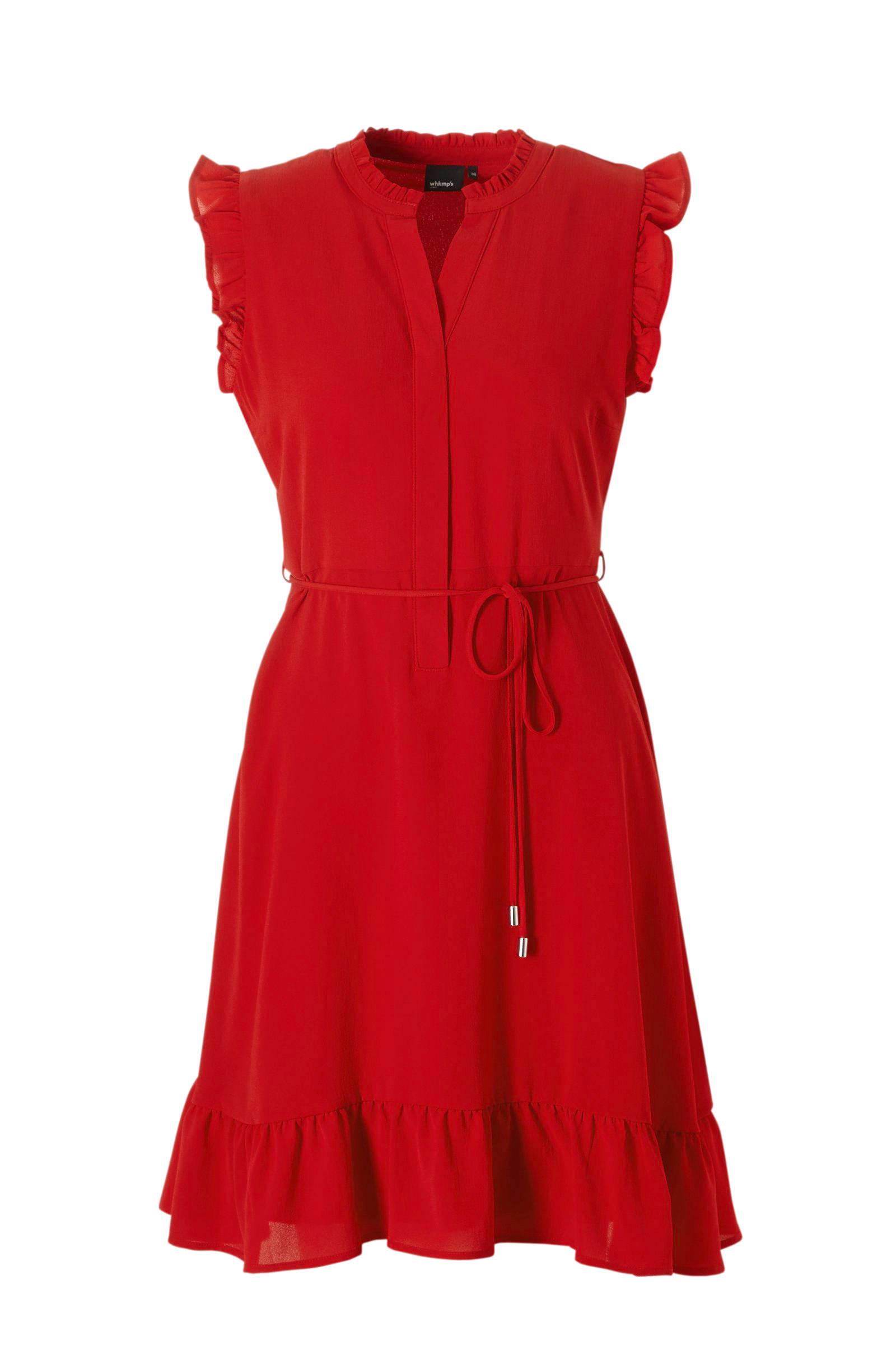 feestelijke jurk rood