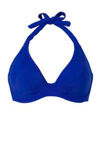 Freya halter bikinitop blauw, Blauw
