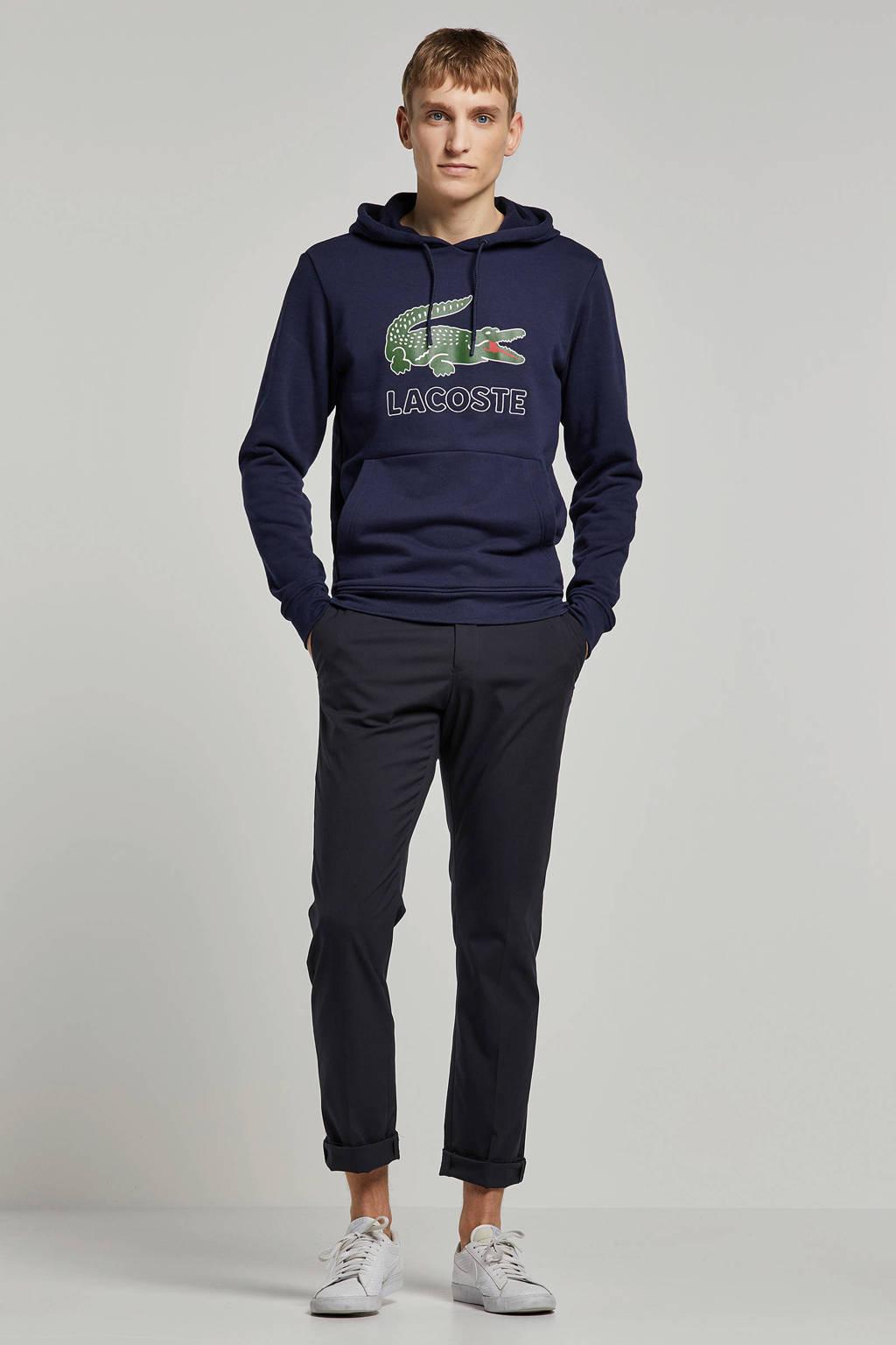 Lacoste hoodie met logo mairne, Marine