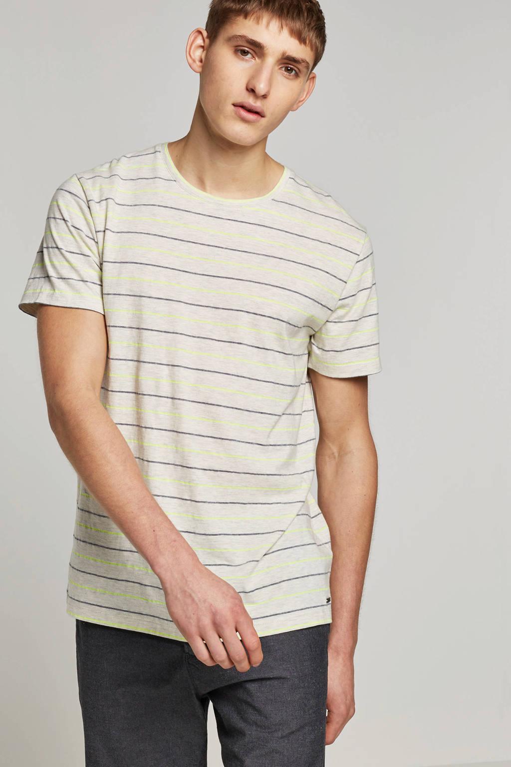 ESPRIT Men Casual T-shirt, Ecru