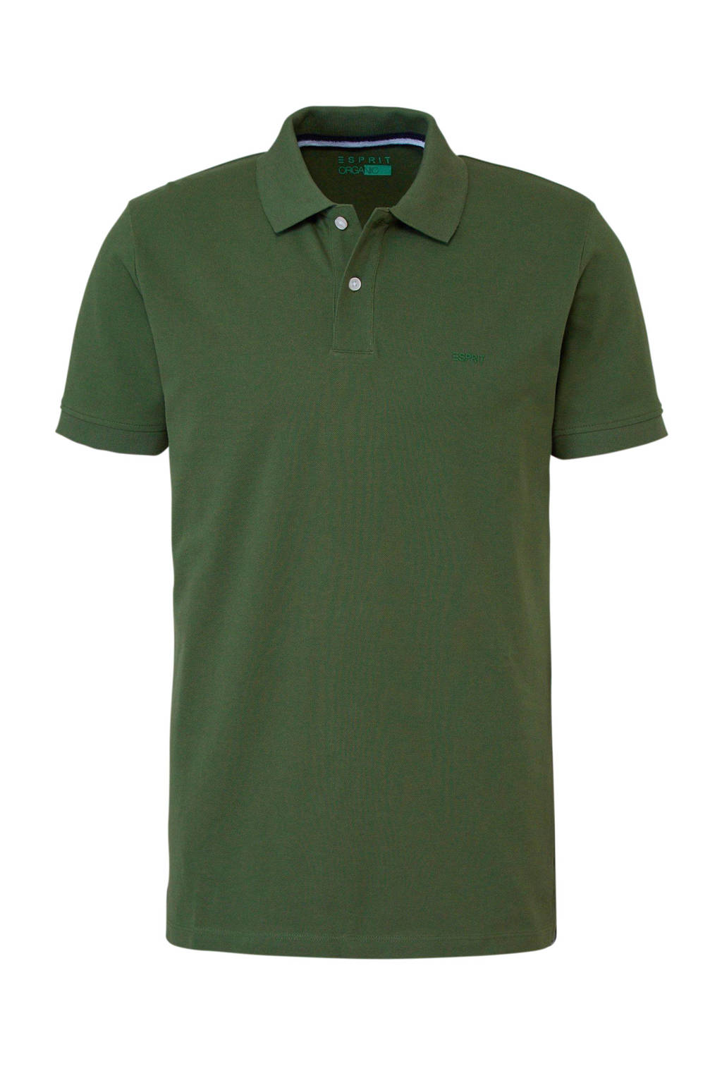 ESPRIT Men Casual polo, Groen