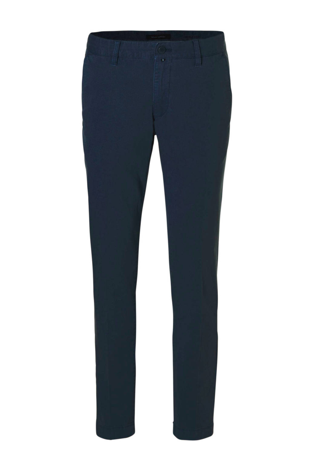 Marc O'Polo tapered fit chino Stig, Donkerblauw