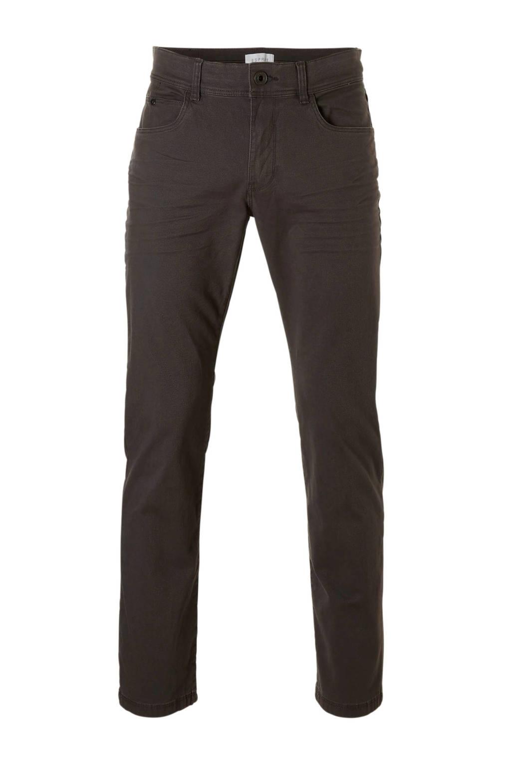 ESPRIT Men Casual  regular jeans, Grijs
