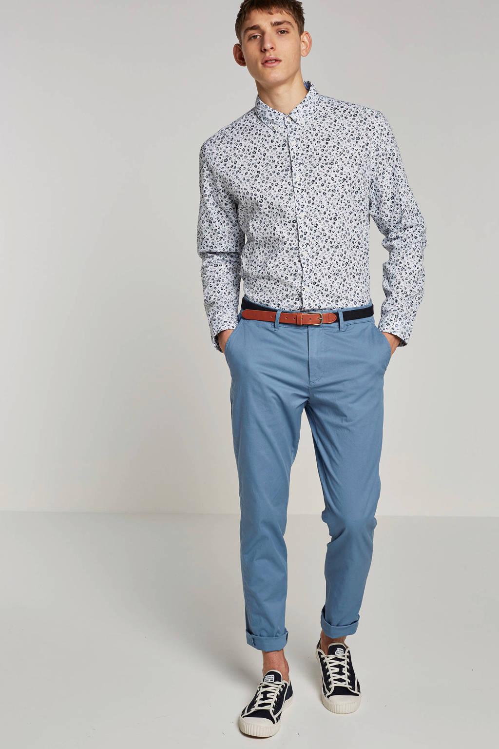 ESPRIT Men Casual regular fit overhemd, Wit