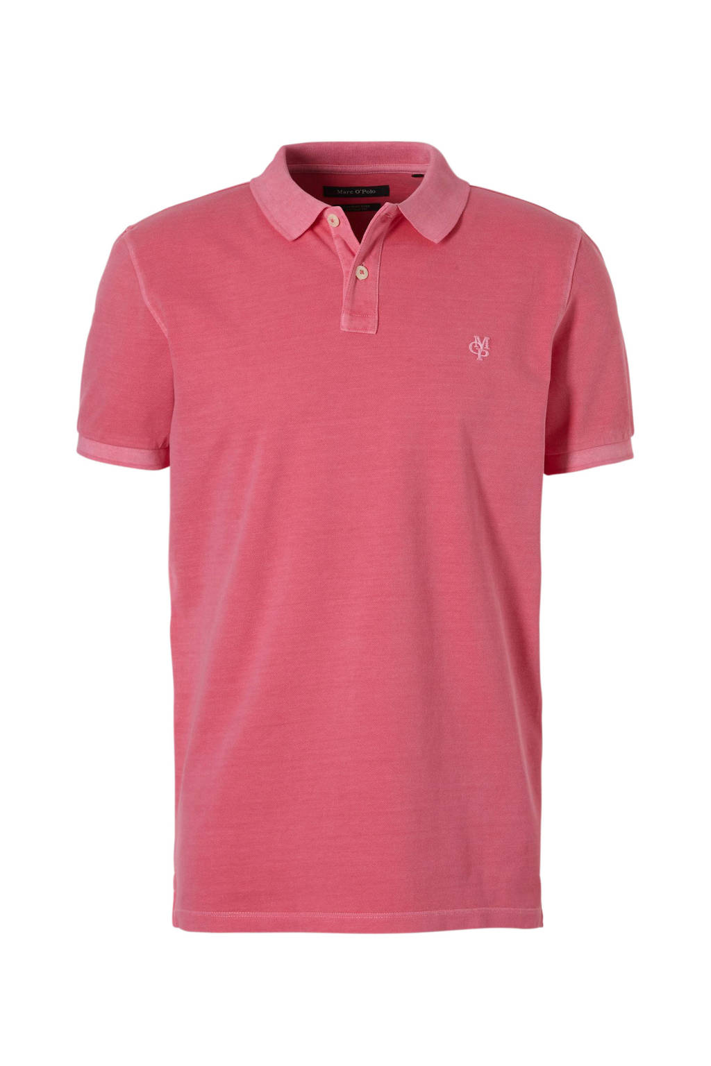 Marc O'Polo regular fit polo, Roze