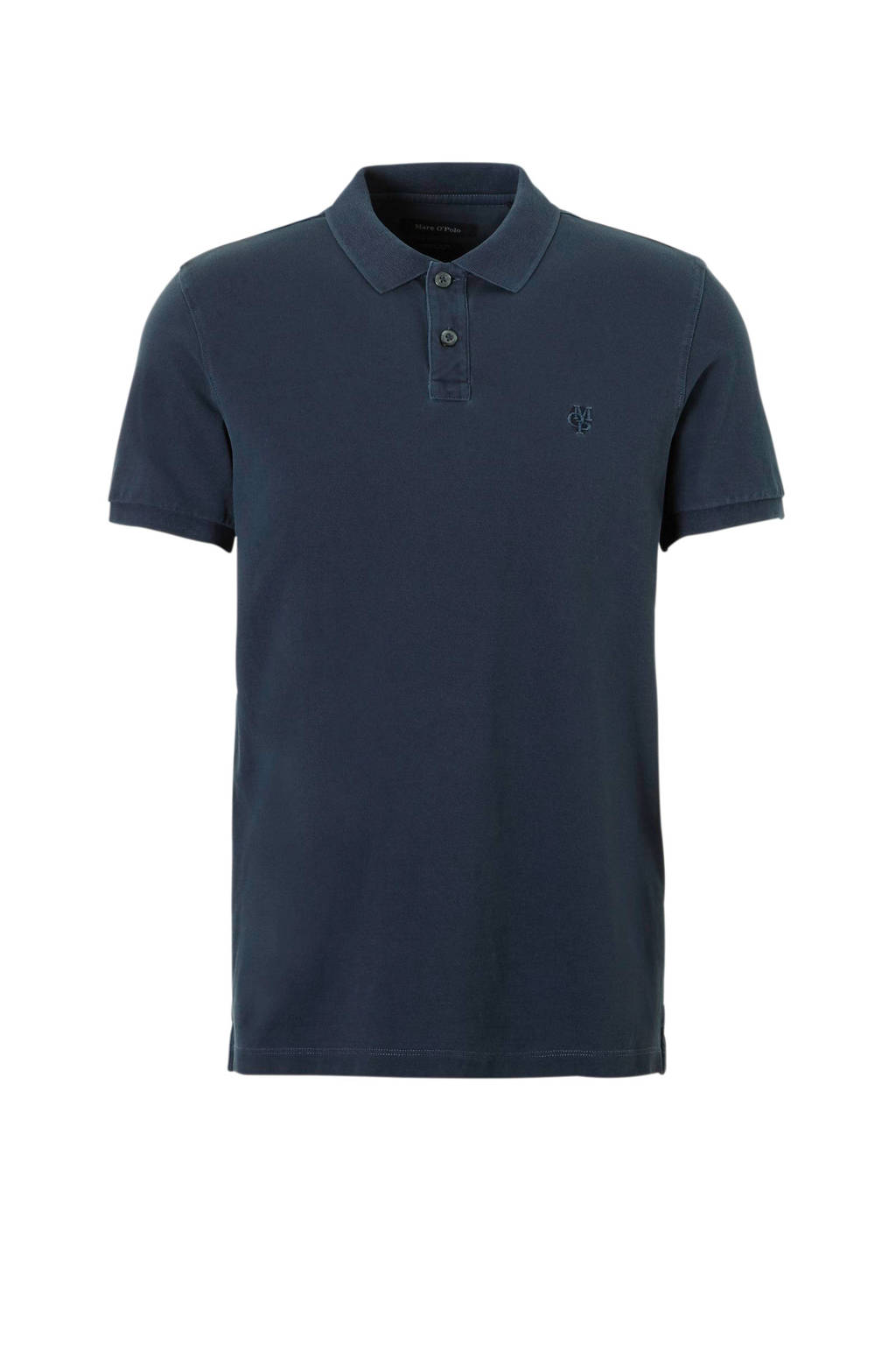 Marc O'Polo regular fit polo antraciet, Antraciet