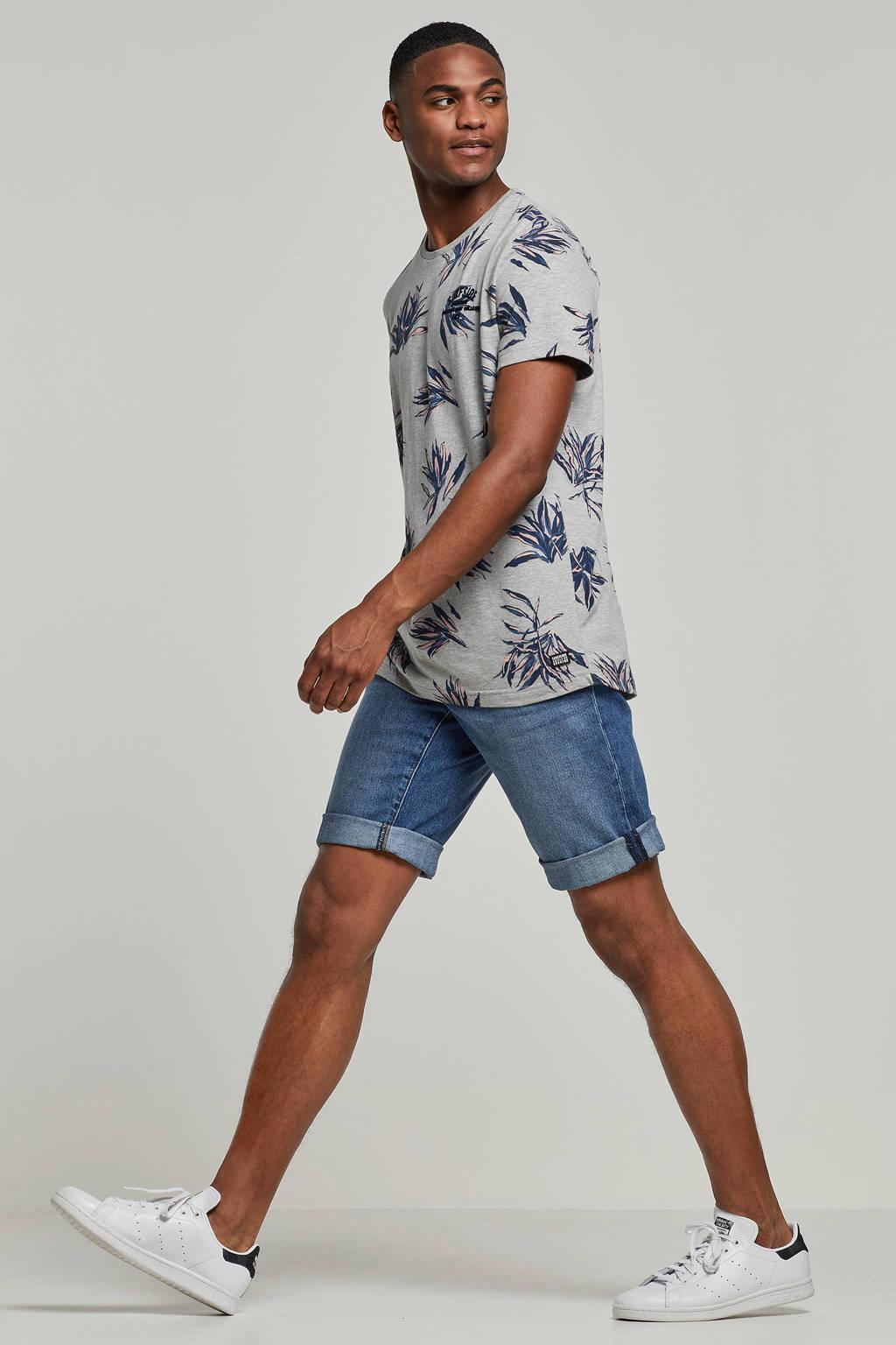 edc Men regular fit jeans short, Blue denim