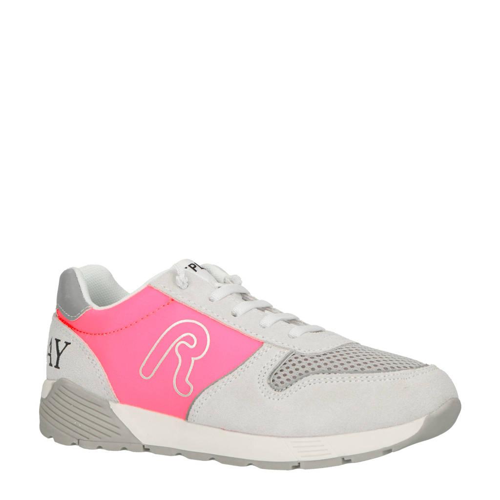 REPLAY  sneakers grijs/roze, Grijs/roze