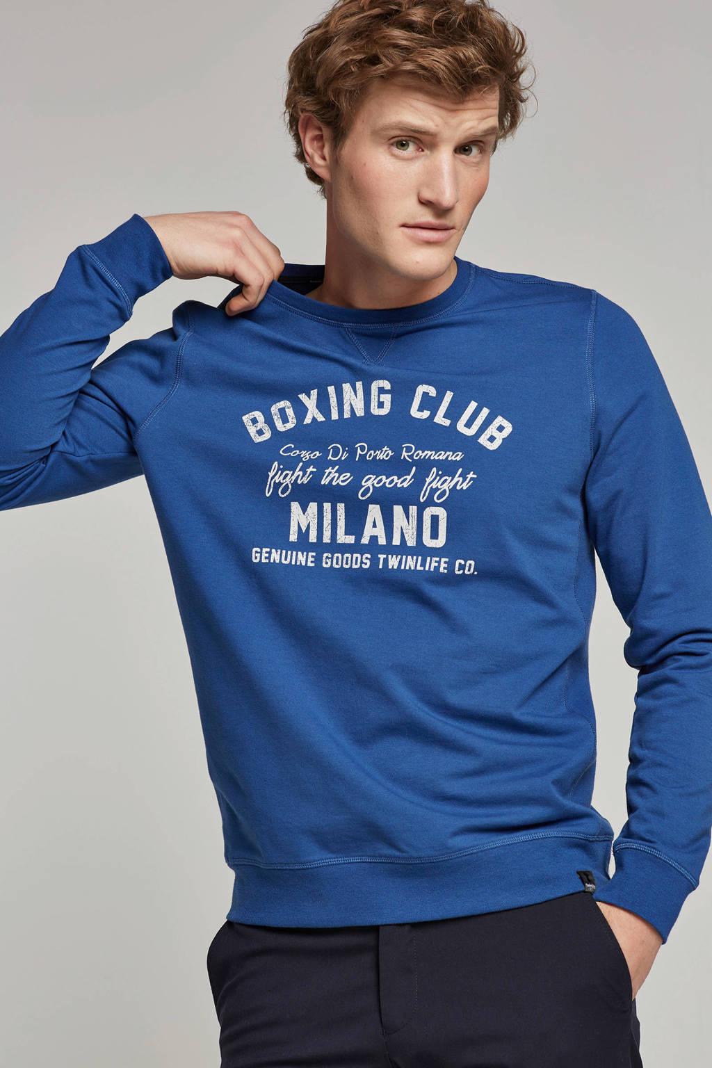 Twinlife sweater, Blauw