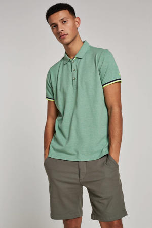 regular fit polo mintgroen