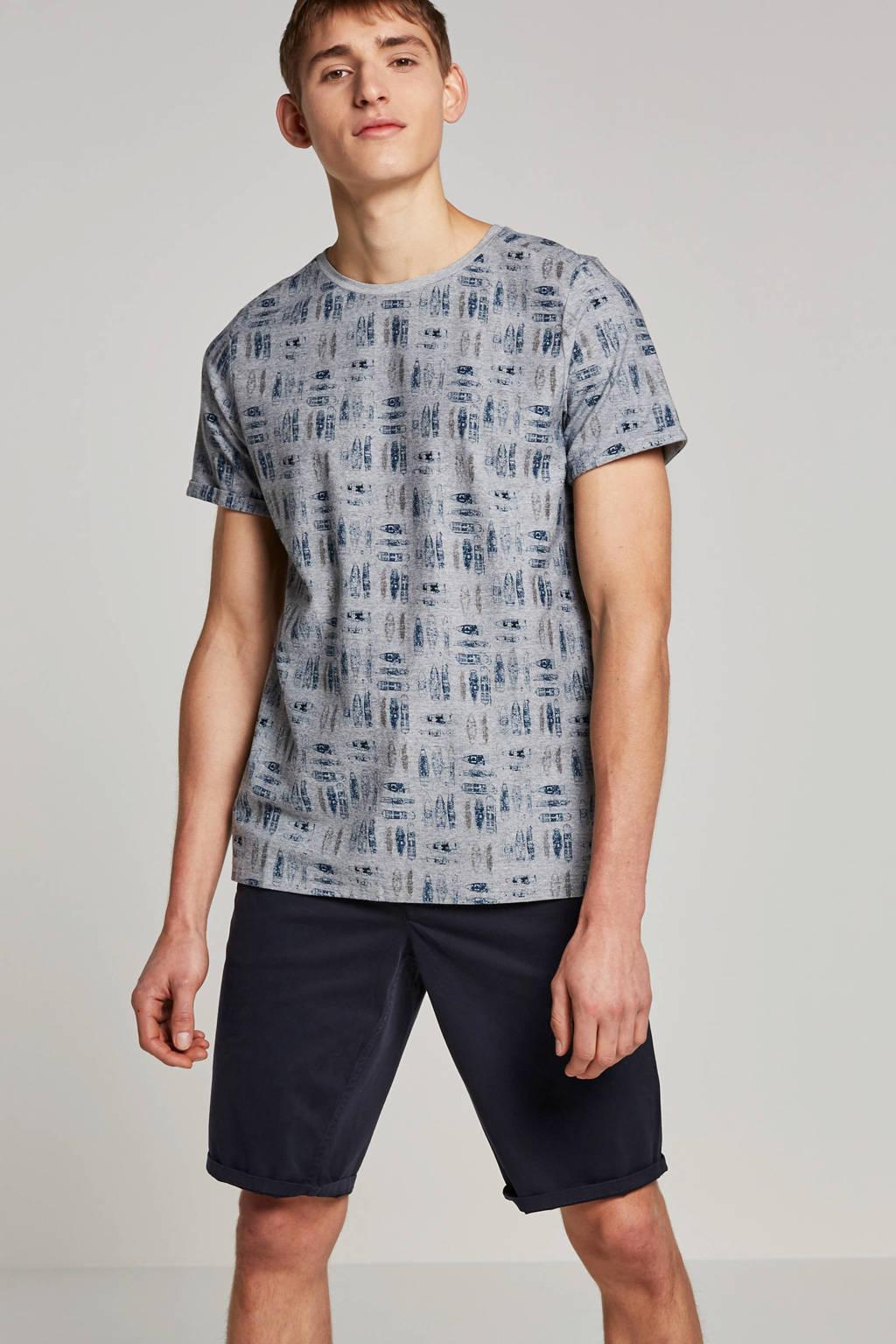 Twinlife T-shirt, Grijs melange