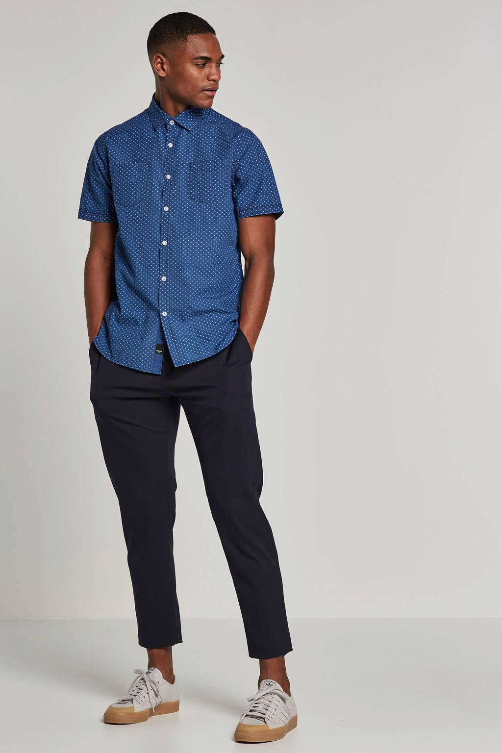 Twinlife overhemd, Blauw