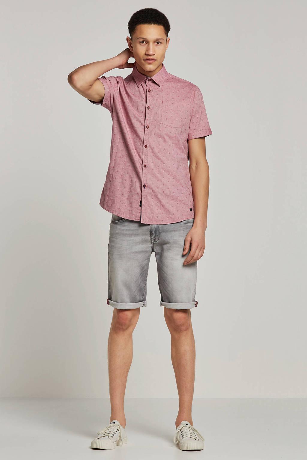 Twinlife overhemd korte mouw, Roze