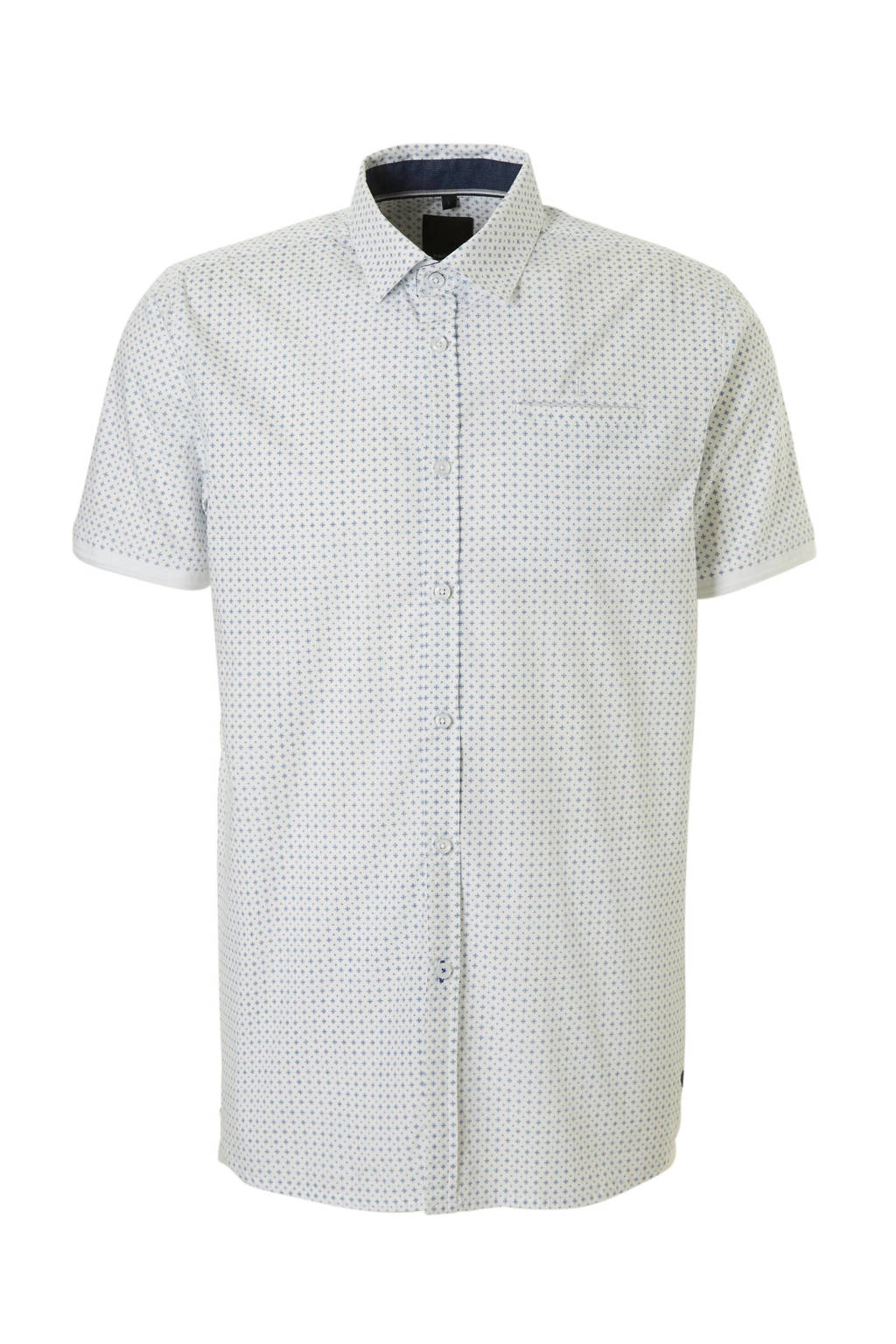 Overhemd Wit Korte Mouw.Twinlife Overhemd Korte Mouw Wehkamp