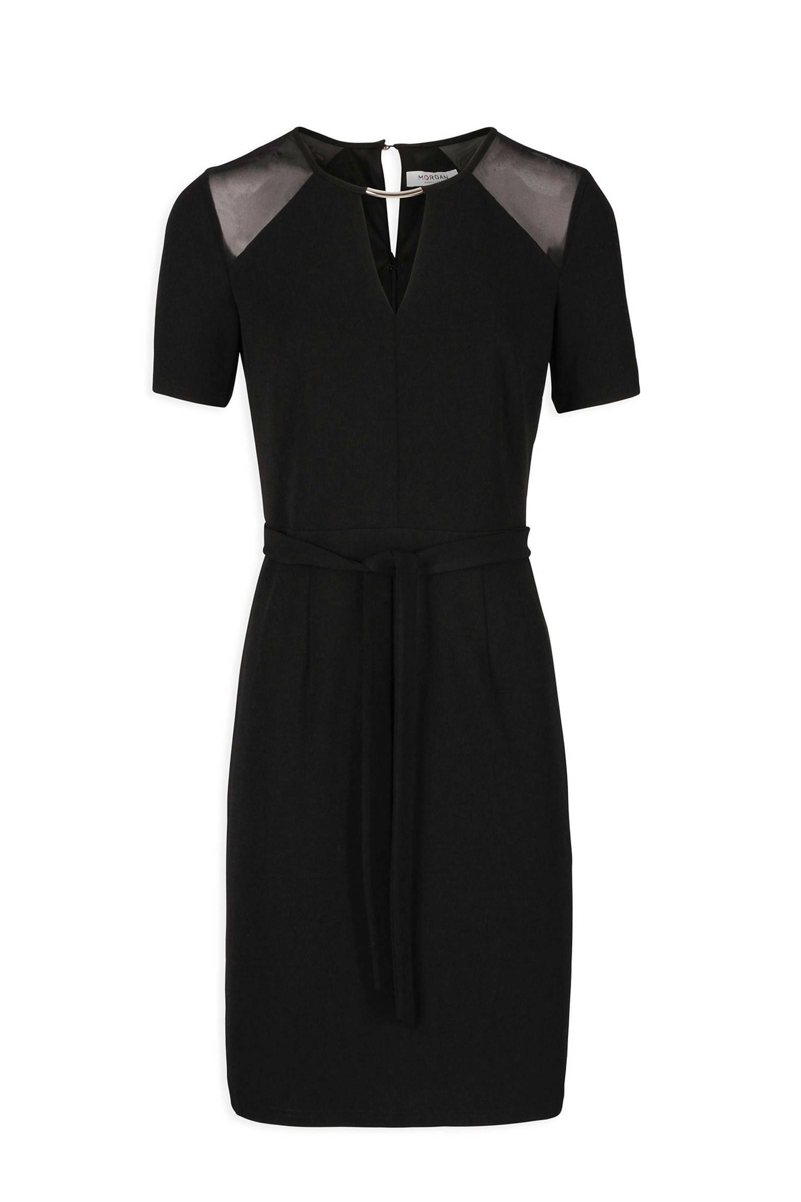 morgan jurk zwart