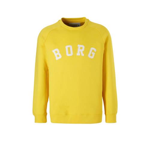 Björn Borg sportsweater geel kopen