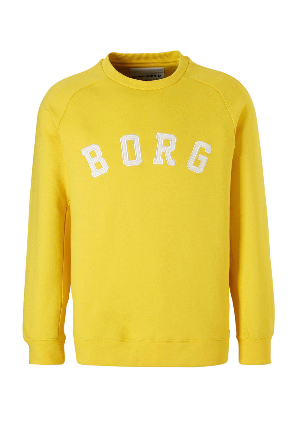 Björn Borg   sportsweater geel, Geel