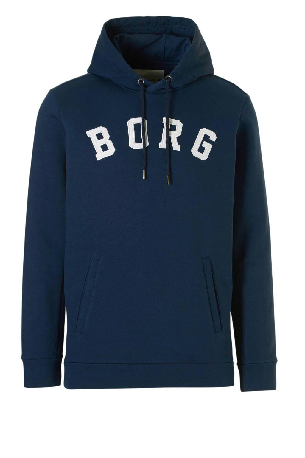 Björn Borg   sportsweater donkerblauw, Donkerblauw/wit