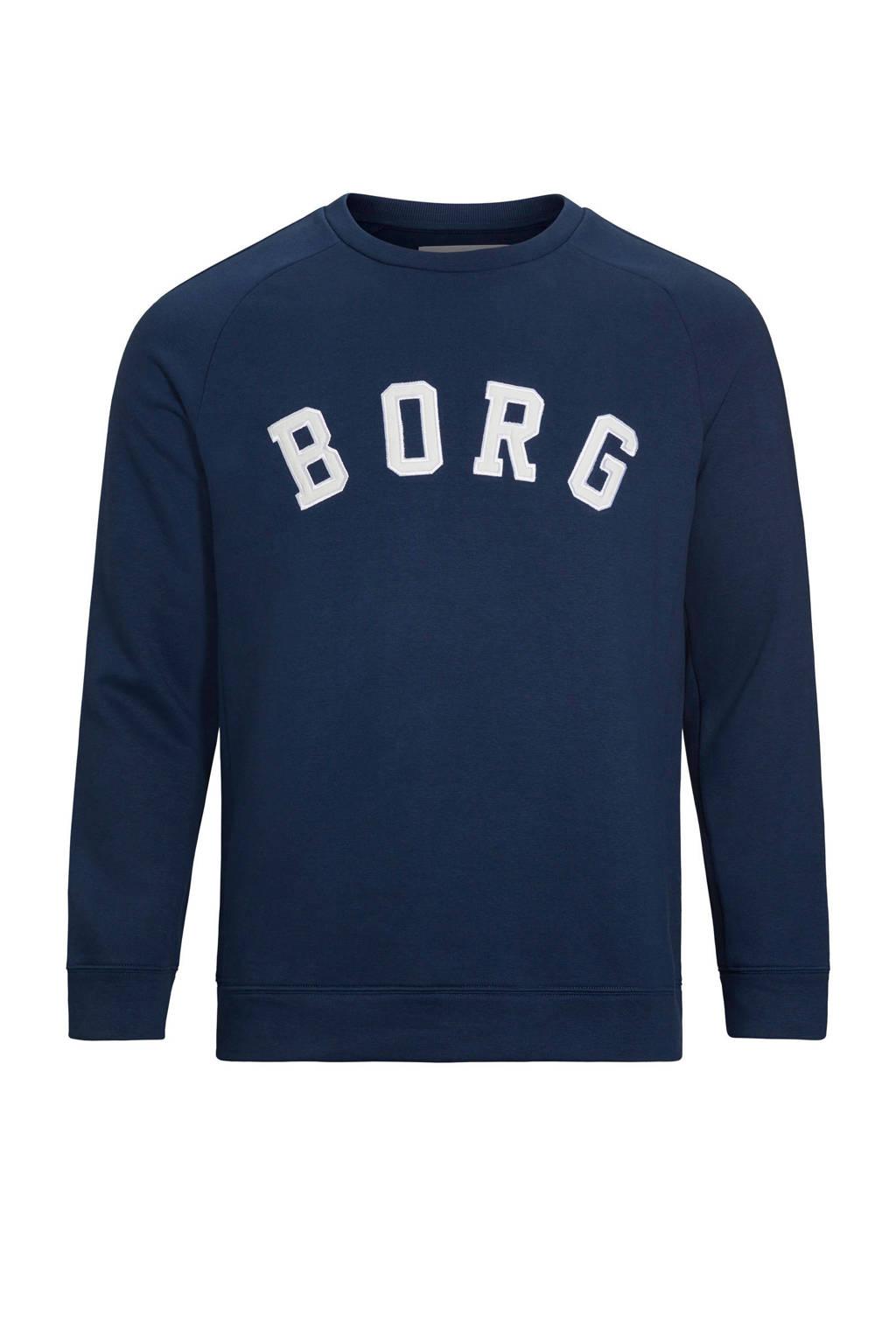 Björn Borg   sportsweater met printopdruk donkerblauw, Donkerblauw