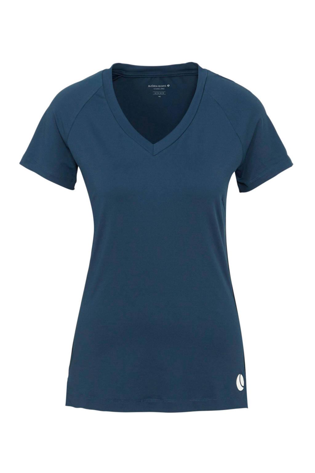 Björn Borg sport T-shirt blauw, Blauw