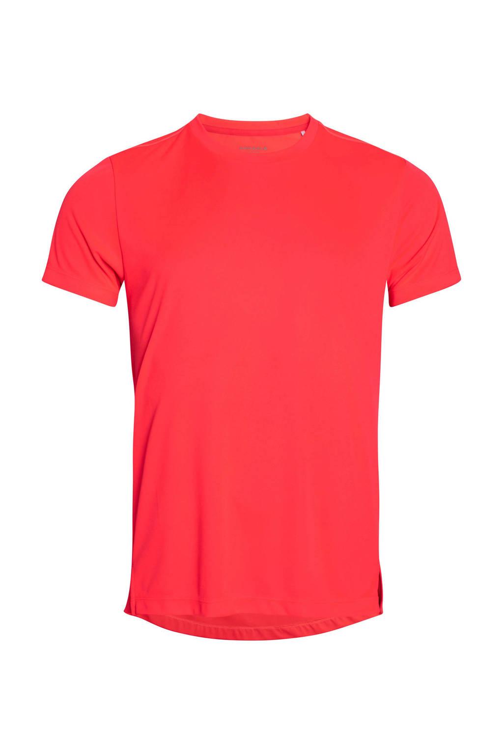 Björn Borg   sport T-shirt rood, Rood/wit