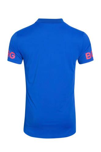 sportpolo blauw