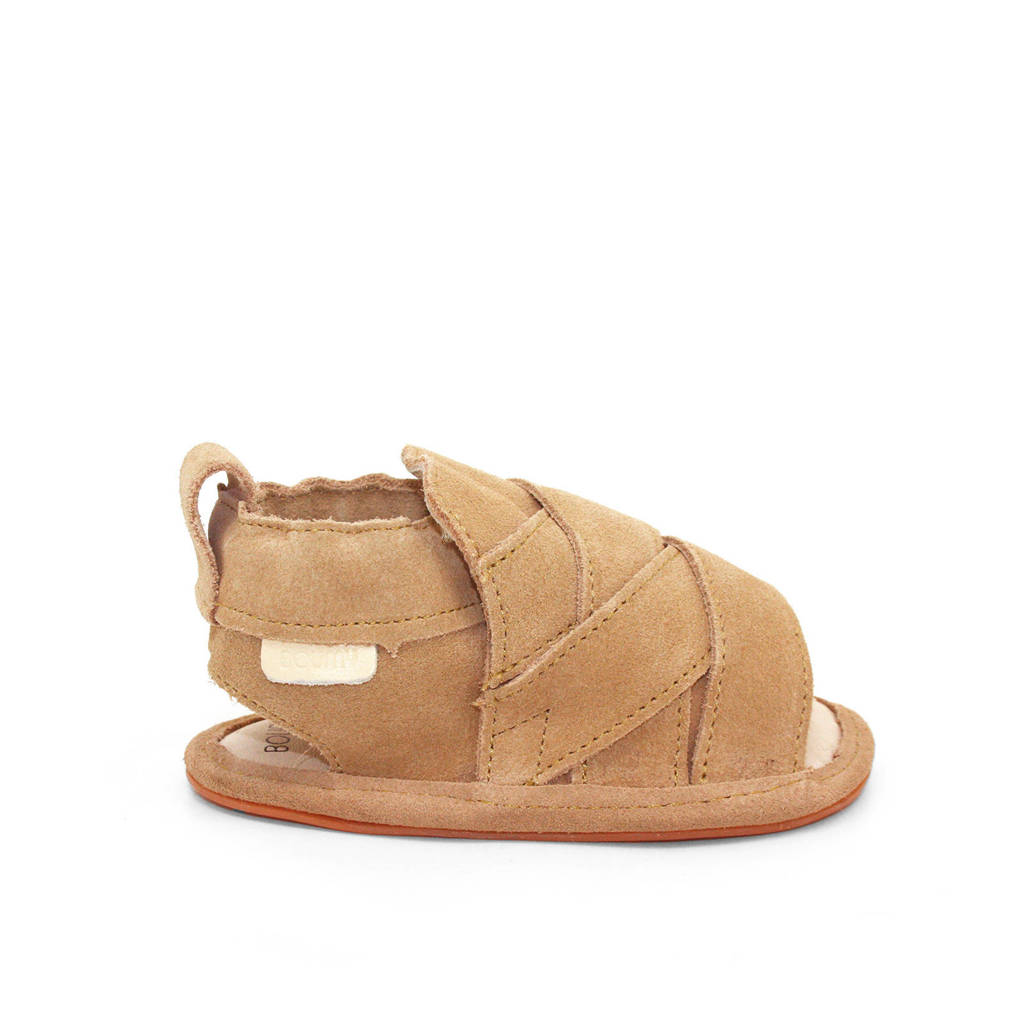 Boumy suède sandalen Bon zand, Zand