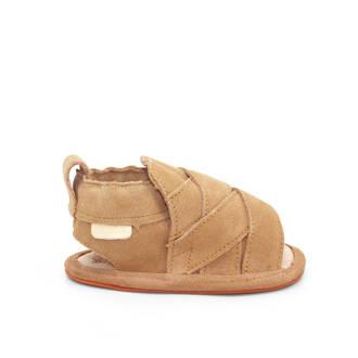 suède sandalen Bon zand
