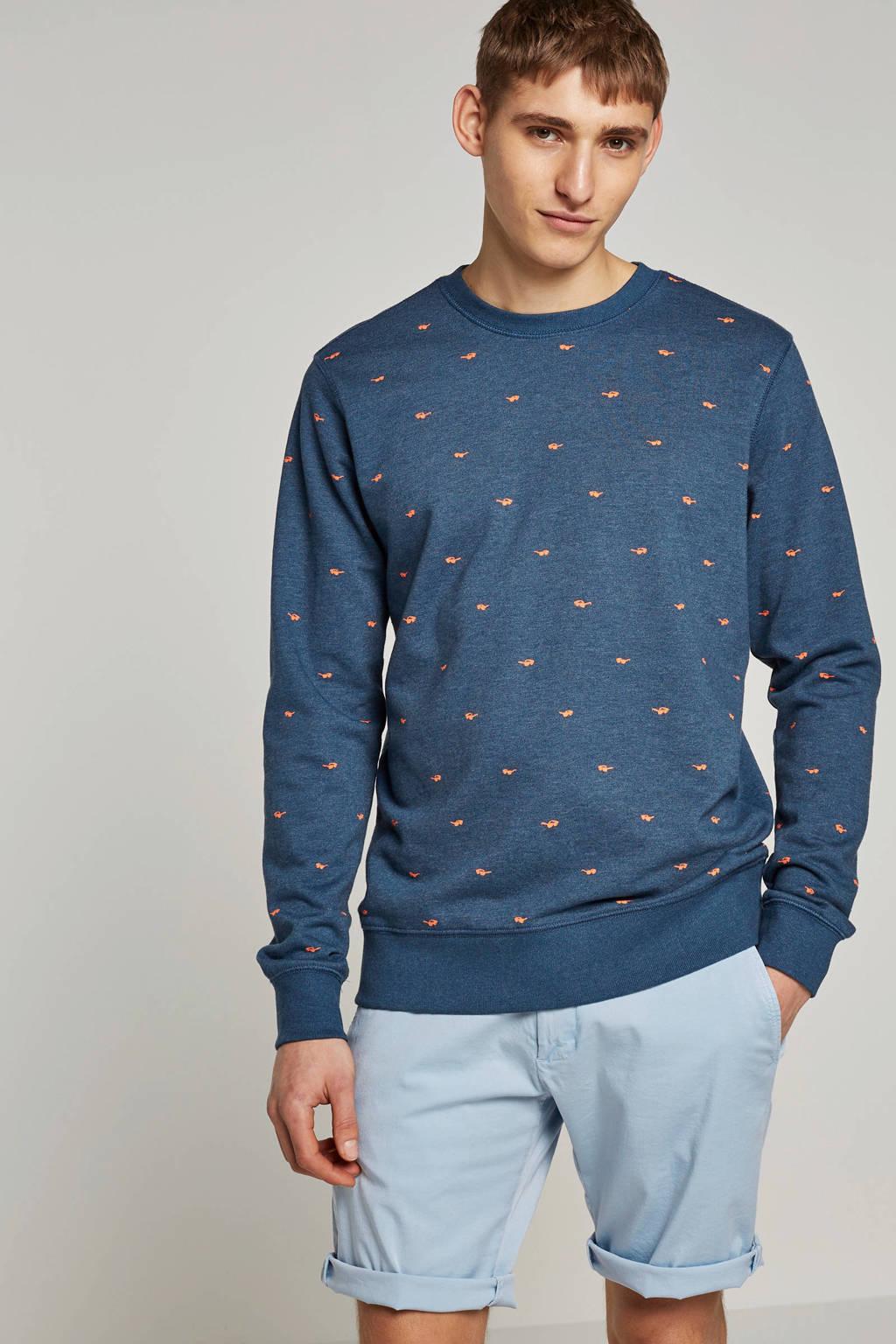 Petrol Industries sweater, Donkerblauw
