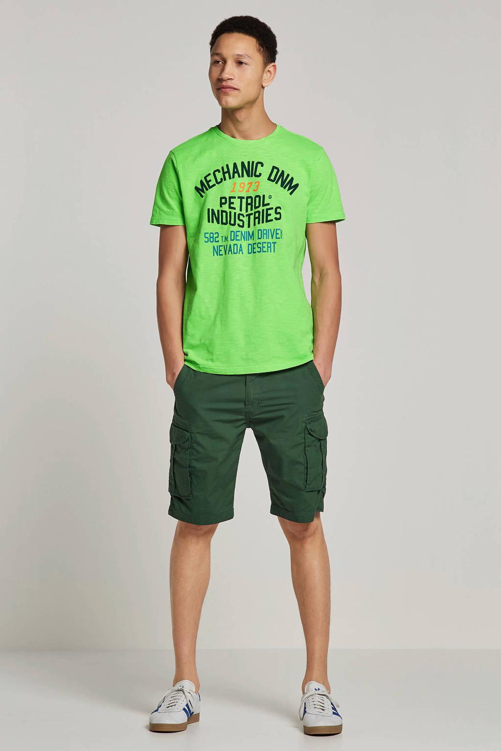 Petrol Industries T-shirt, Groen